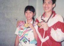 atlet indonesia ini merupakan pencetak medali emas untuk bulu tangkis