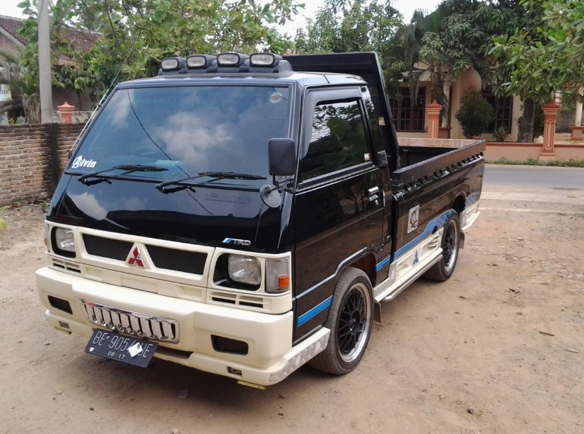 foto modifikasi mobil pick up carry 1.0 hilux