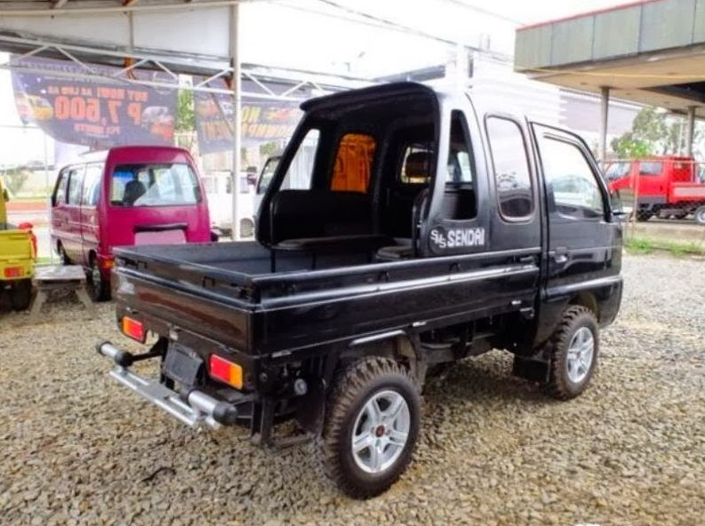 kumpulan foto modifikasi mobil pick up suzuki carry