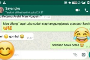 contoh chat pacar gombal